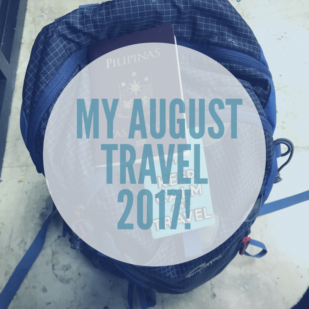 How I traveled with a backpack for 26 days!
